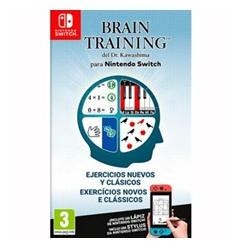 Juego nintendo switch - brain training