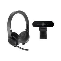 Kit profesional video colaboracion logitech webcam