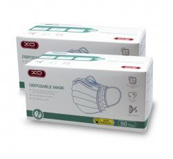 Mascarilla higienica caja 100 unidades triple