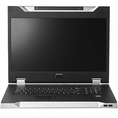 Consola kvm hpe lcd8500 18.51pulgadas usb
