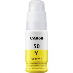Botella tinta canon gi - 50y amarillo 70ml