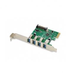 Controladora conceptronic pci express 4 puertos