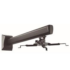 Soporte videoproyector throw 1300 mm negro.
