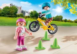 Playmobil special plus impulso niños con