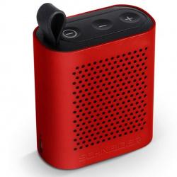 Altavoz bluetooth schneider groove micro rojo