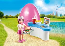 Playmobil special plus camarera con mostrador