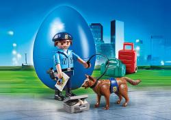 Playmobil special plus policia con perro