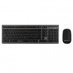 Combo inalambrico teclado multimedia y raton