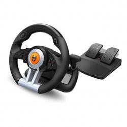 Volante krom k - wheel gaming pc ps3