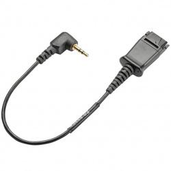 Cable conexion plantronics qd jack 2.5mm