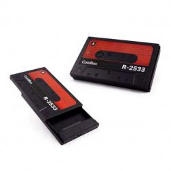 Carcasa disco duro hdd - ssd coolbox coo - scp2533 - r