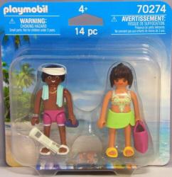 Playmobil figuras pareja vacaciones