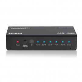 Switch eminent 5 puertos hdmi televisor