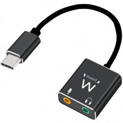 Cable adaptador audio ewent usb tipo