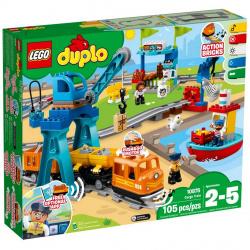 Lego duplo tren mercancias