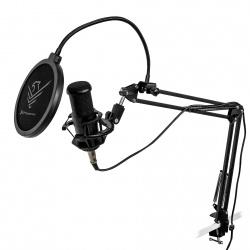 Micrófono condensador cardioide profesional phoenix con