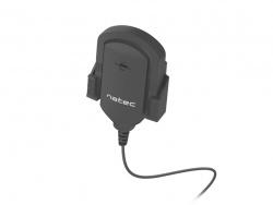 Microfono natec fox omnidireccional negro