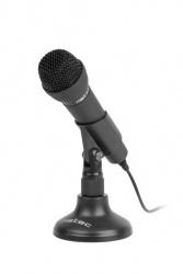 Microfono natec adder negro