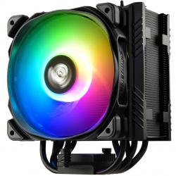 Ventilador disipador gaming enermax ets - t50a - bk - argb intel