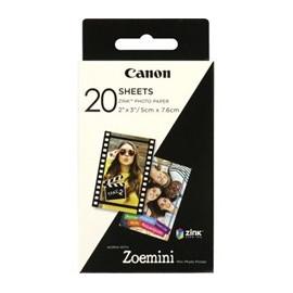 Papel fotografico canon zp - 2030 20 hojas
