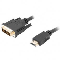 Cable hdmi lanberg macho dvi - d 18+1