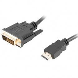 Cable hdmi lanberg macho dvi - d 24+1