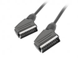 Cable lanberg euroconector macho macho 3