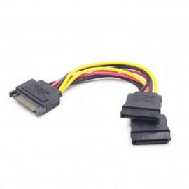 Cable sata gembird cc - satam2f - 01 macho - hembra 2