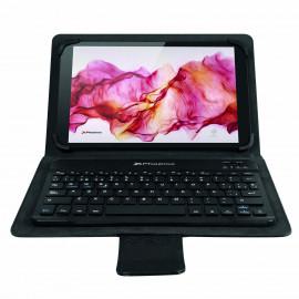 Funda universal negra + teclado bluetooth