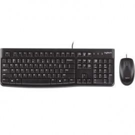 Teclado + mouse logitech mk120 usb