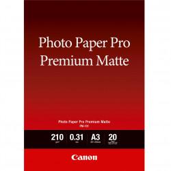 Papel fotografico canon premium matte tinta
