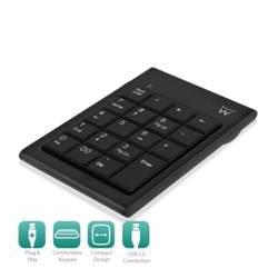 Teclado numerico pc portatil ewent usb