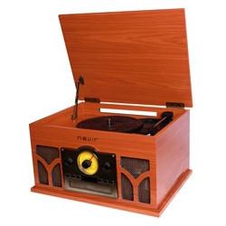 Giradiscos tocadiscos con radio cd conversor