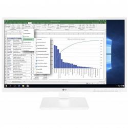 Monitor led lg 24bk550y - w 23.8pulgadas fhd