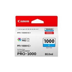Cartucho tinta canon pfi - 1000 c cian