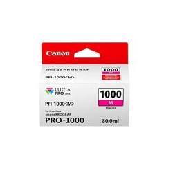 Cartucho tinta canon pfi - 1000 m magenta