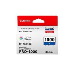Cartucho tinta canon pfi - 1000b azul pro - 1000