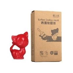 Recubrimiento colido piezas impresoras 3d rojo