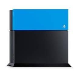 Accesorio ps4 hdd cubierta azul