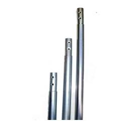 Mastil cincado prolongable 1500x35x1.5 antena cliente
