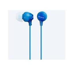 Auriculares sony mdrex15lpli boton azul