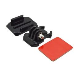 Accesorio soporte adhesivo curvo 3m casco