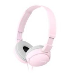 Auriculares sony mdrzx110p diadema rosa