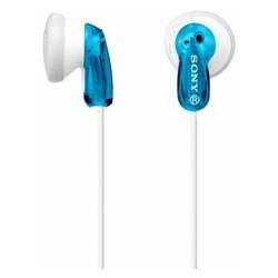 Auriculares sony mdre9lpl boton azul