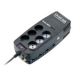 Regulador voltaje neon 1200va 6 schuko
