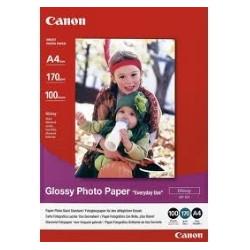 Papel fotografico canon gp - 501 10x15cm 100