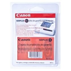 Ampliacion garantia canon a 3 años