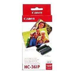 Papel foto canon kc - 36ip 8.6x5.4+tinta 36tarj