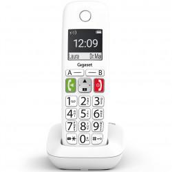 Telefono fijo inalambrico gigaset e290 blanco