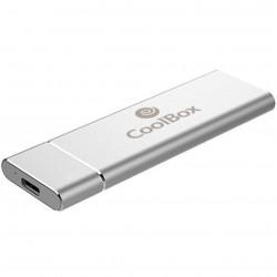 Mini carcasa disco duro hdd - ssd coolbox